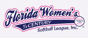 Florida Women's Half Century Softball League, Inc. Logo
